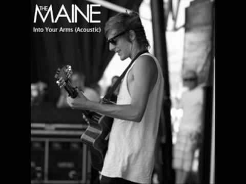 The Maine - Into Your Arms(Acoustic w/ lyrics)