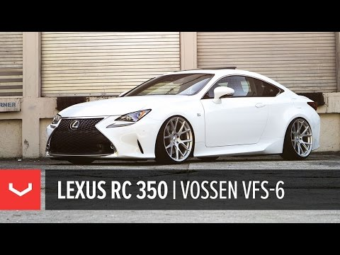 Lexus RC 350 | All New Vossen VFS-6 Utilizing Flow Formed Technology