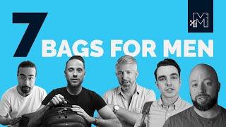 7 Best Men's Bags for 2019 // Aer, Carl Friedrik, Think Tank, Peak Design and MORE