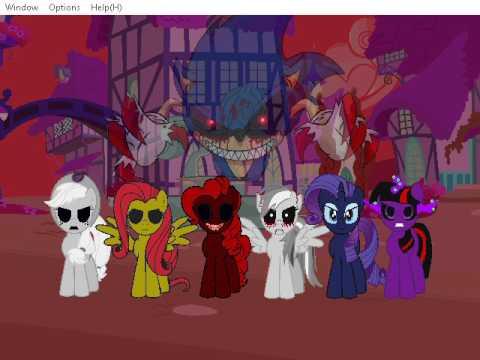 Fighting is Magic Creepy Dimension Rainbow Dash Gameplay