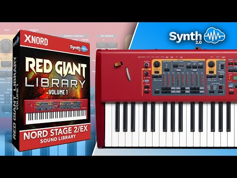 Red Giant Library for Nord Electro 5 / Nord Stage 2 series (Synthcloud Library by Anthony)