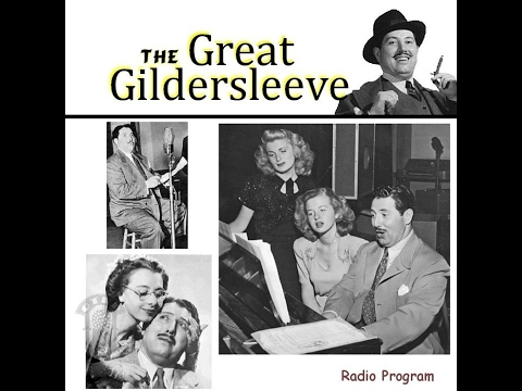 The Great Gildersleeve - Falling out of...