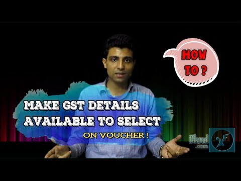 How to select GST nature of transaction on voucher