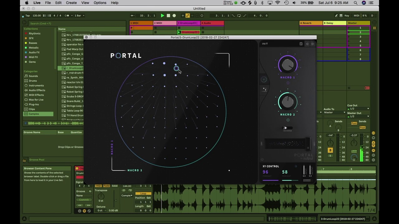 Portal Granular Audio Effect VST by Output