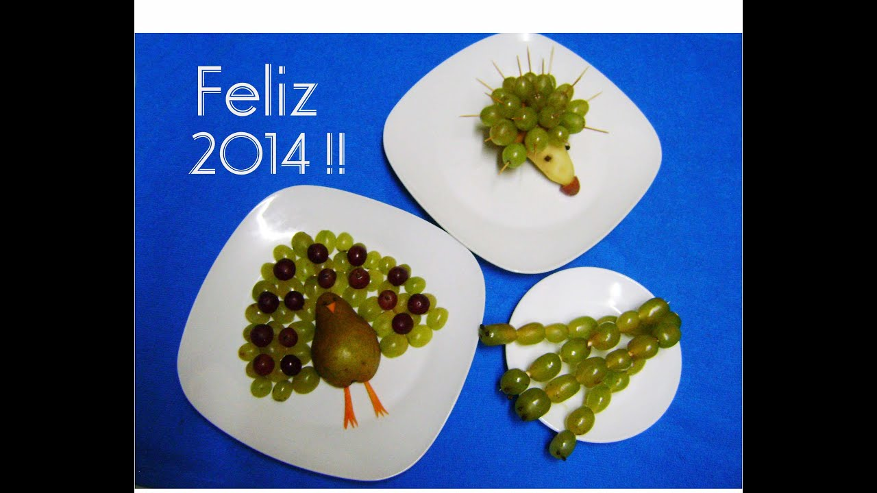 Decoraciones con Uvas - Decorations with grapes - YouTube