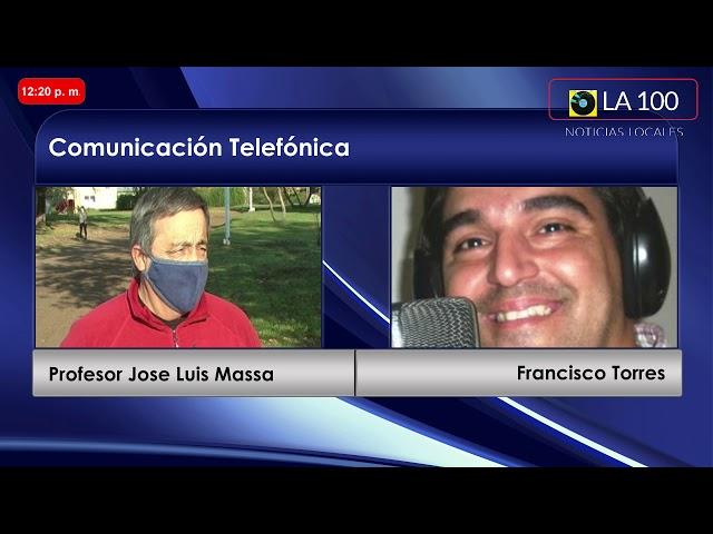 Jose Luis Massa en La 100 Bragado