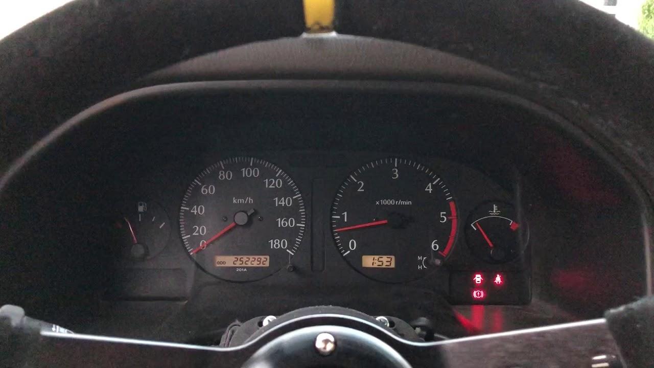 Voyant airbag nissan patrol y61 3l 2003 - YouTube