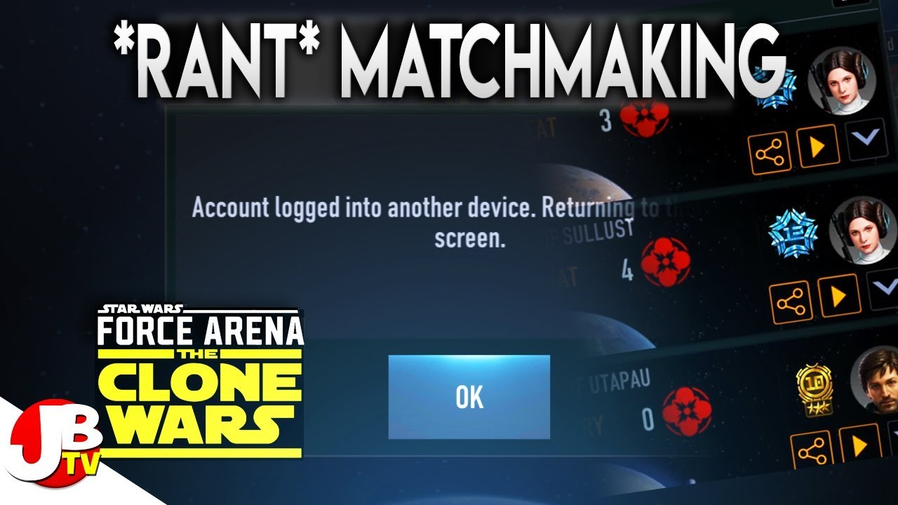 Matchmaking cancelled force arena