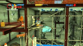 LEGO City Undercover 100% Guide - Special Assignment #9 'Hot Property' - All Collectibles