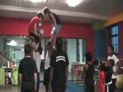 African acrobat comes to St. Louis to teach circus  and life  skills