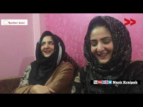 Meet Uzma and Bushra at Srinagar | Kashmiri Famous song