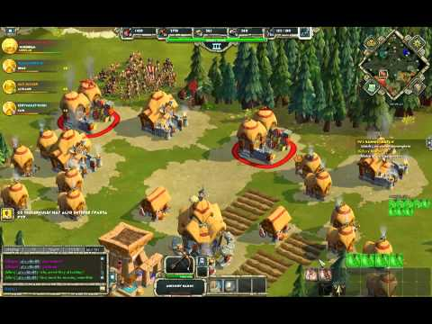 Age of Empires Online - PvP - 2v2 - Celts + Egyptian vs Gree