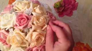 Wedding bouquet - Свадебный букет дублер своими руками