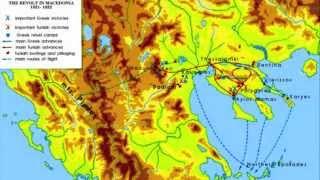 Revolutionary activity in Macedonia 1821-1822 HD