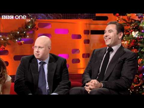 Lucas & Walliams sing the Martin Clunes   The Graham Norton   Christmas Special 2010  BBC