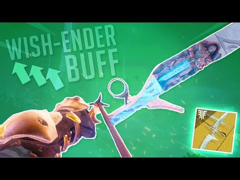 The Wish-Ender BUFF!  (It's Actually Decent Now) | Destiny 2 thumbnail