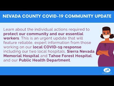 Nevada County COVID-19 Community Update
