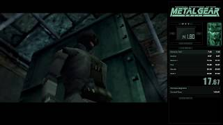 MGS Integral (PSTV) - Normal Mode All Bosses 1:31:36 [World Record]