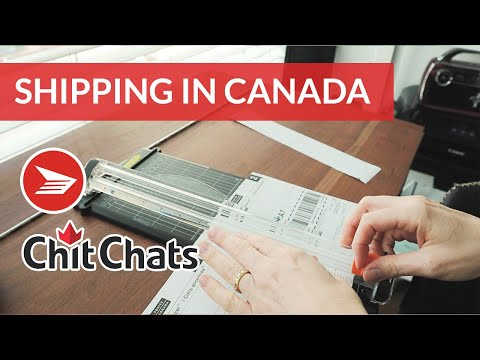 Shipping with Canada Post and Chit Chats with Etsy