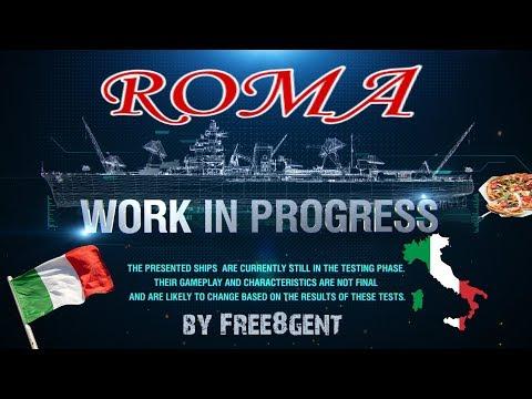 World of Warships [deutsch] –  Roma | Work in Progress