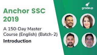 Anchor SSC 2019 (Batch 2) Course Orientation By Quasif Sir @ 5:30PM