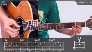 figcaption [그랩더기타] 가을 아침 (Autumn Morning) - 아이유 (IU) [Guitar Tutorial|기타 강좌]