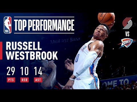 Russell Westbrook RISES For His 14th Triple-Double Of The Season | January 22, 2019