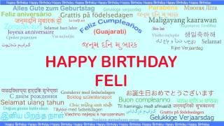 Feli   Languages Idiomas - Happy Birthday