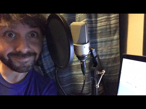 AUDIOBOOK RECORDING LIVE! What's It Like Being A Voiceover Artist?