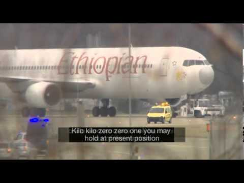 Ethiopian Airlines flight is hijacked by its CO PILOT