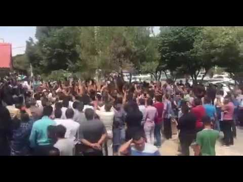 Third day of protests against Iran's regime in Karaj on August 2