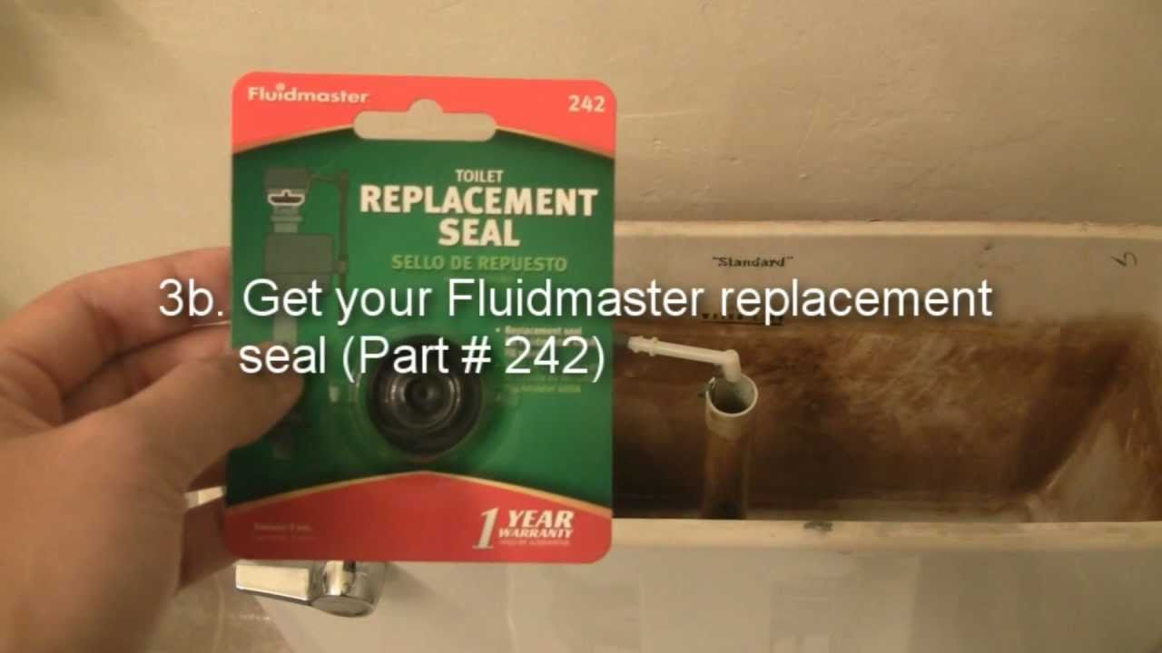 How To Fix A Toilet Replacing The Fluidmaster 400 Fill