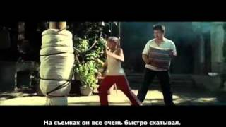 «Каратэ-пацан» видео интервью с актерами
