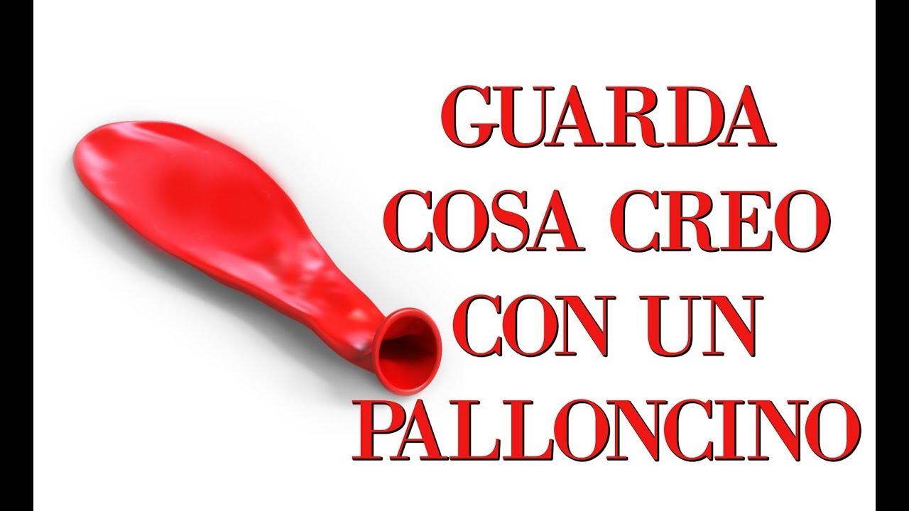 Download GUARDA COSA CREO CON UN PALLONCINO!  DOPO SARAI CALMISSIMO! Arte per Te