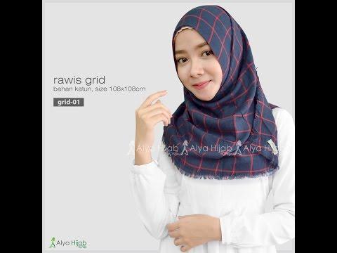 Tutorial Hijab Simple Segi Empat Rawis Bisabo Channel
