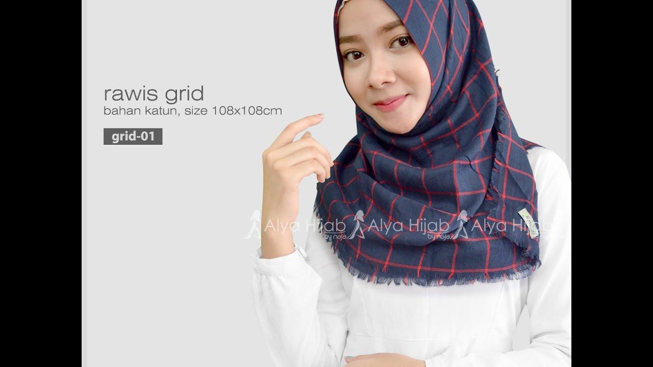 Tutorial Hijab Segi Empat Rawis Simple Dan Kekinian Hijab Yuk