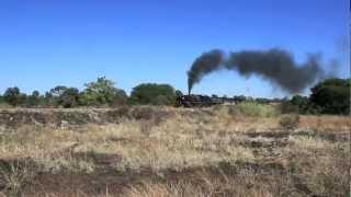 Africa Steam 2011 - Garratt locomotives in Zimbabwe