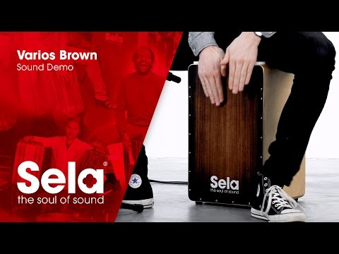 Sela SE 051 Varios Brown (Cajon Sound Demo)