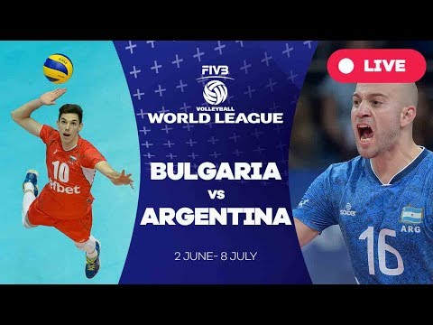 Bulgaria v Argentina - Group 1: 2017 FIVB Volleyball World League