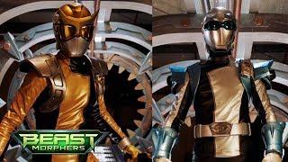 Power Rangers Beast Morphers - Chosen Gold and Silver Rangers | First Morph and Battle | Episode 8