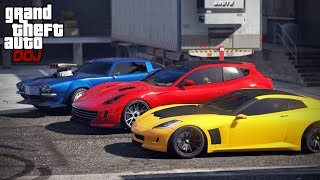 GTA 5 Roleplay - DOJ 258 - Mirror Park Street Race (Criminal)
