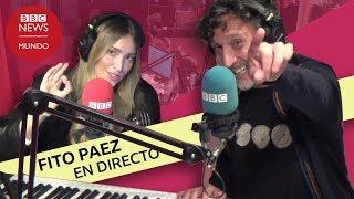 Entrevista a Fito Páez en directo en BBC Mundo
