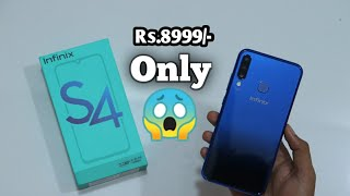 Inifinix S4 unboxing and first impressions with 32MP AL Selfie camera | TECH WITH US |