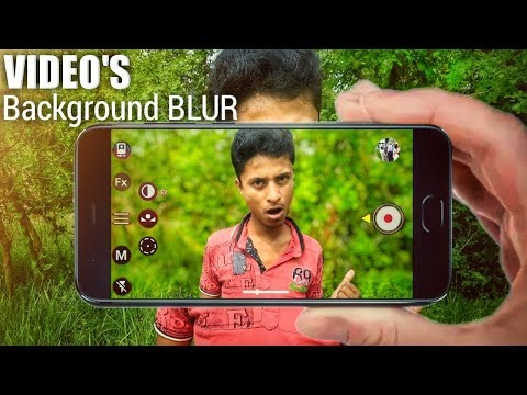 3 New Video Background Blur Apps For Android | How To Blur Video Background on Android
