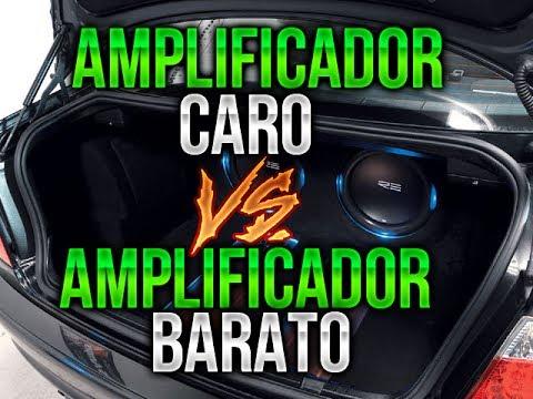 AMPLIFICADOR COSTOSO VS AMPLIFICADOR BARATO ( POTENCIA ) / CAR AUDIO
