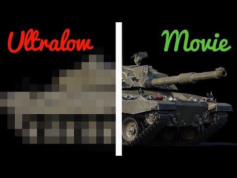 ULTRALOW Vs MOVIE Settings - War Thunder