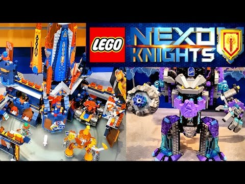 Лего Нексо Найтс Замок Найтон (70357), Каменный Колосс Джестро (70356) Наборы Lego Nexo Knights 2017