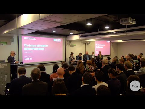 The future of London's Open Workspaces - Part 3 Panel Discussion
