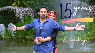 15 years of togetherness || Our journey in a short vlog || Anniversary Vlog