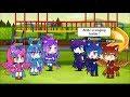 Girls vs Boys Singing Battle - KPOP VERSION ! ( Gachaverse )